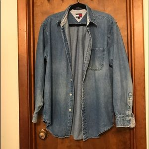 Tommy Hilfiger Denim Jacket Medium Blue